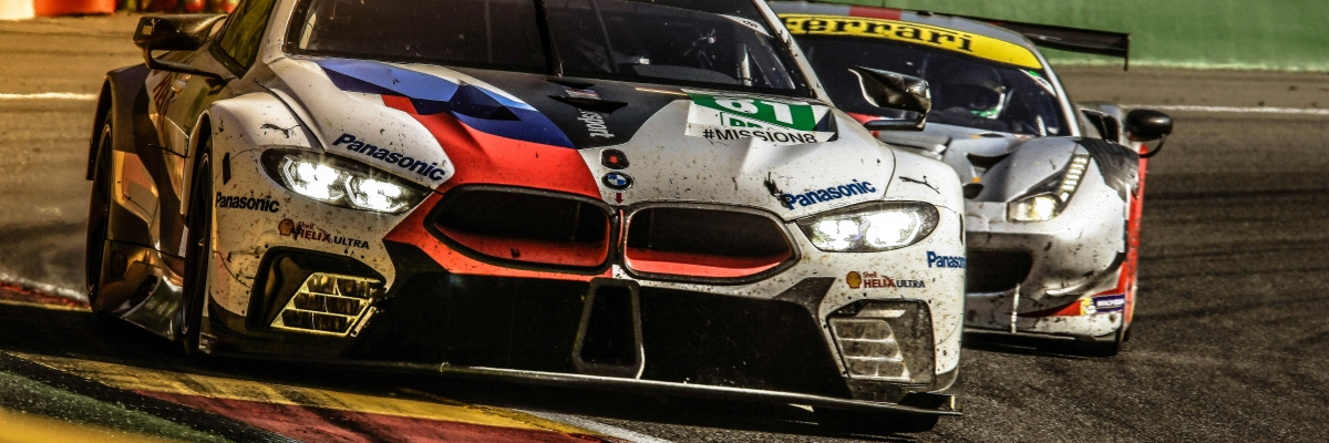 First Steps in FIAWEC forthe BMW M8 GTE