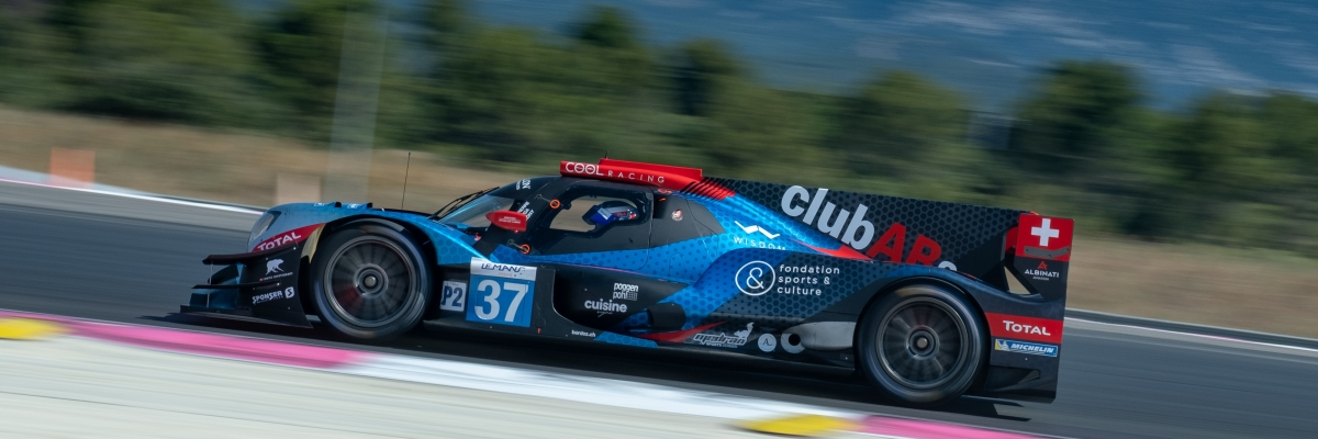 NO.37, COOL RACING, Oreca 07 - Gibson, #4hLeCastellet 2020